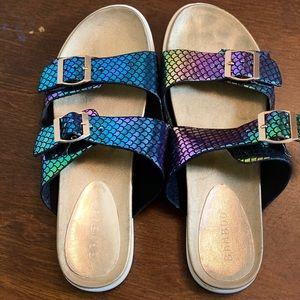 Fashion nova mermaid sandals